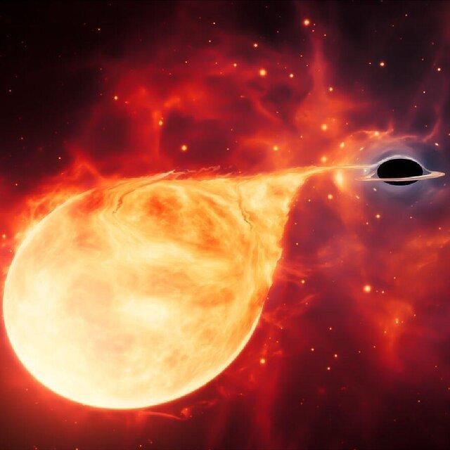 تمام سیاه چاله ها کلان جِرم نیستند