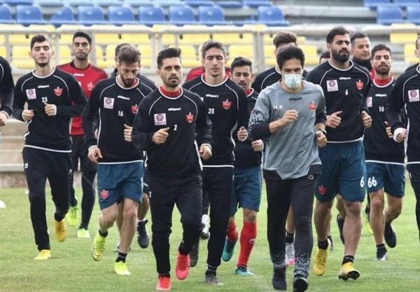 گزارش تمرین پرسپولیس، استارت سرخپوشان پس از فینال لیگ قهرمانان